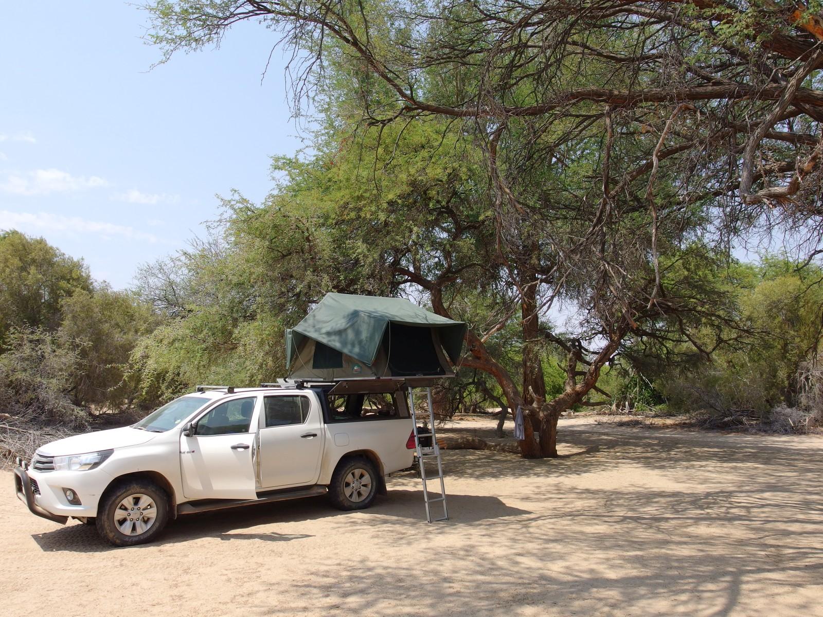 Campsite in Purros