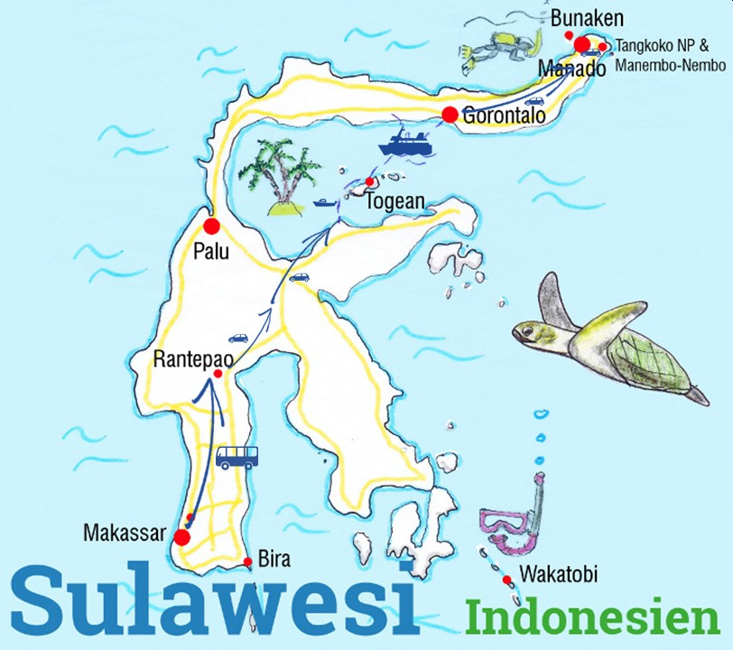 Sulawesi Route